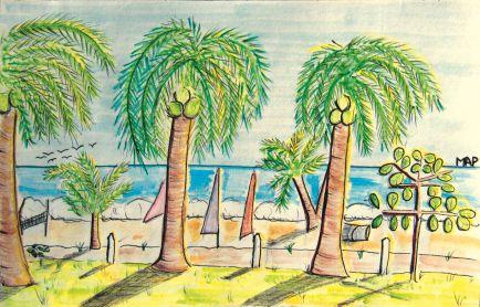 Playa San Miguel, jueves 09 de marzo de 2017