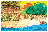 The Sea Garden House / Olón / Ecuador / www.theseagardenhouse.com