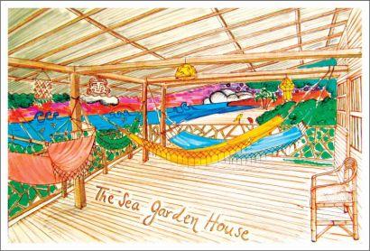 The Sea Garden House / Olón / Ecuador