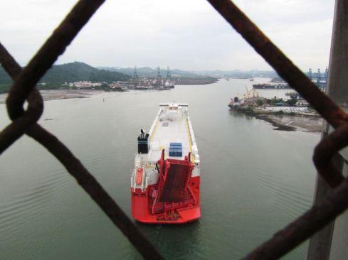Canal de Panamá desde el Puente de las Américas / Panamá