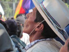 Movilización de Pueblos Originarios. San Salvador de Jujuy