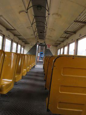 Tomando el tren en San José