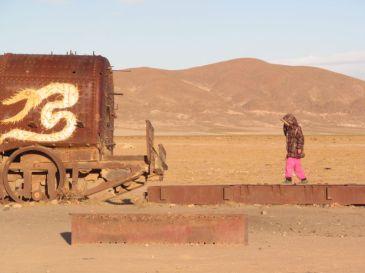 Salara de Uyuni. Bolivia.