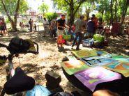 Mercado de los sábados en Montezuma / Puntarenas
