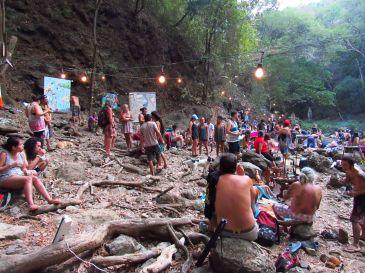 Feria en la cascada / Montezuma / Puntarenas