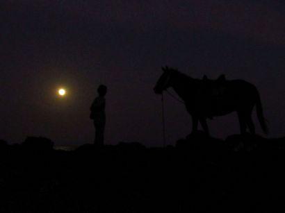 Cabalgata de luna llena en Cabuya / Puntarenas