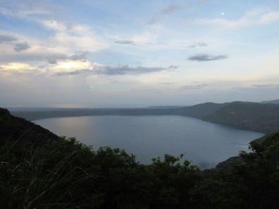 Laguna de Apoyo desde Catarina.