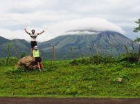Volcán San Cristobal, camino a Somotillo.