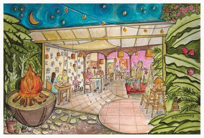 Angie Angie Café Arte / Antigua Guatemla