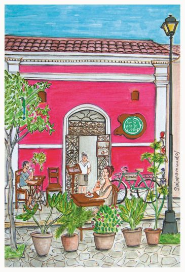 Café de los Sueños / Granada / Nicaragua / www.cafedelossuenos-nicaragua.com