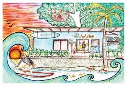 Costa Rica Surf Camp / Dominical / Costa Rica / www.costaricasurfcamp.com / https://www.facebook.com/costaricasurfcampdominical