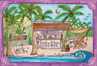 Gusto Beach / Sámara / Costa Rica / https://www.facebook.com/Gusto-Beach-Samara-123193624425053/?fref=ts