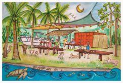 Locos Cocos Restaurante / Playa San Miguel, Guanacaste / Costa Rica / https://www.facebook.com/LocosCocos-253251791569/?fref=ts