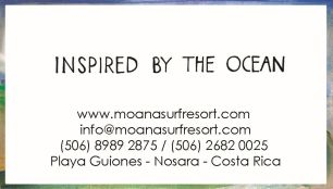 Moana Surf Resort / Playa Guiones / Costa Rica