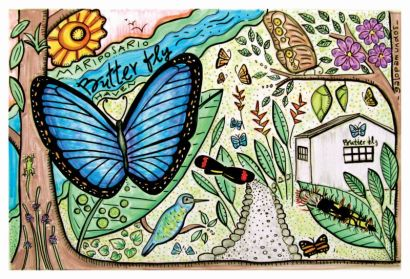 Butterfly Haven / Valle de Antón / Panamá / http://www.butterflyhavenpanama.com