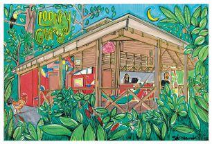 Looney Grapes Hostel / Punta Uva, Puerto Viejo / Costa Rica / https://www.facebook.com/Looney-Grapes-Hostel-Titeres-407100109431835/?fref=ts