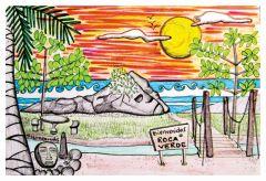 Roca Verde Hotel y Restaurant / Dominical / Costa Rica