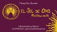 El Sol de Oro Restaurante / Mompiche / Ecuador