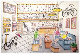La Cletería Bike Cafe & Tea house / Arequipa / Perú