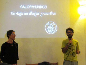 Presentación de Galopamundos en La Jícara - Oaxaca