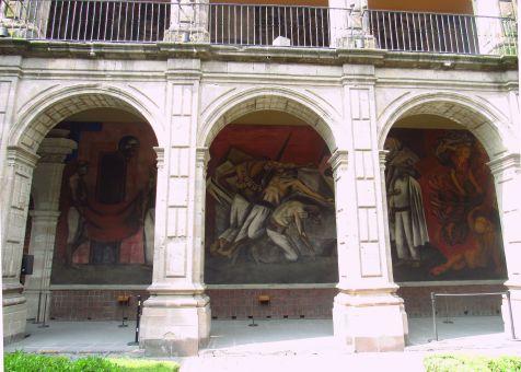 La Trinchera (Orozco) - Colegio San Idelfonso - Ciudad de México