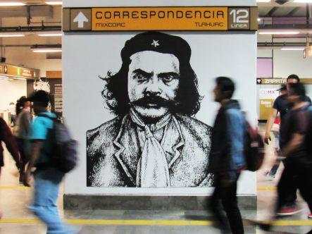 En el metro - Ciudad de México