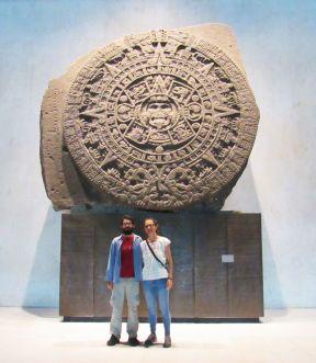 Piedra del Sol -Museo de Antropología - Ciudad de México