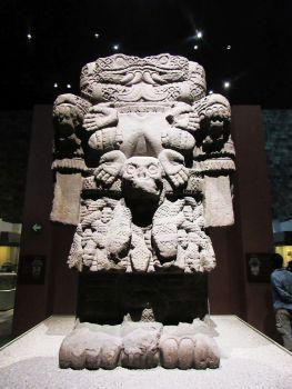 Coatlicue - Museo de Antropología - Ciudad de México
